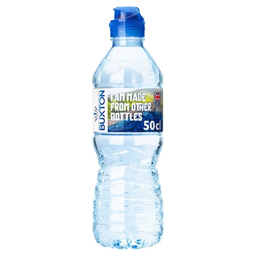Picture of Buxton Still Natural Mineral Water Sports Cap 500ml