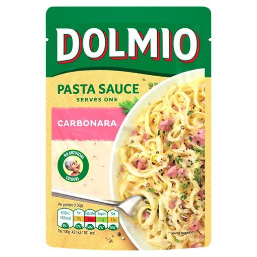 Picture of Dolmio Carbonara Pouch Pasta Sauce 150g