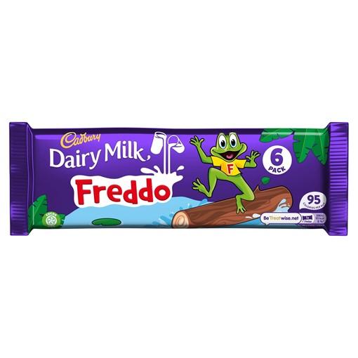 Picture of Cadbury Dairy Milk Freddo Chocolate Bar 6 Pack 108g