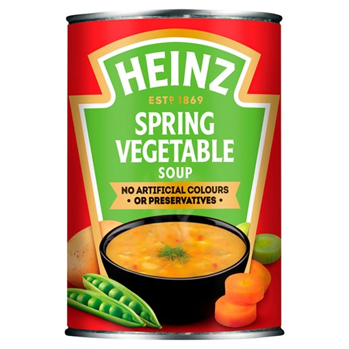 Picture of Heinz Spring Vegetable Soup 400g