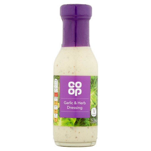Picture of Co Op Garlic & Herb Dressing 250ml