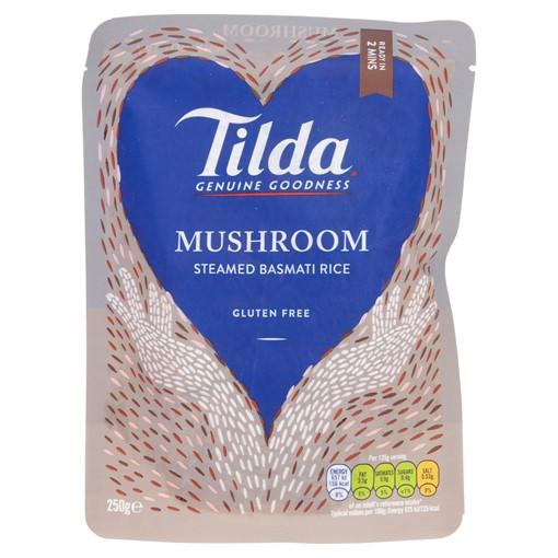 Picture of Tilda Microwave Mushroom Basmati Rice 250g
