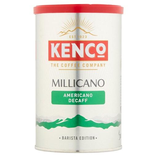 Picture of Kenco Millicano Americano Decaf Instant Coffee 100g