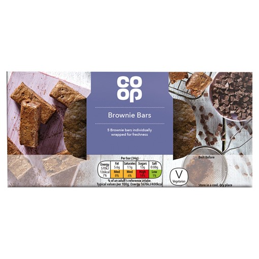 Picture of Co-op Lunchbox 5 Brownie Bars