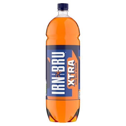 Picture of IRN-BRU Xtra No Sugar 2L Bottle