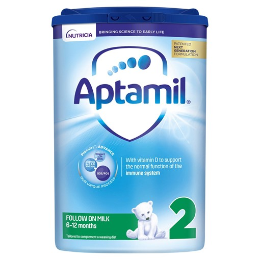 Picture of Aptamil 2 Follow On Baby Milk Formula 6-12 Months 800g