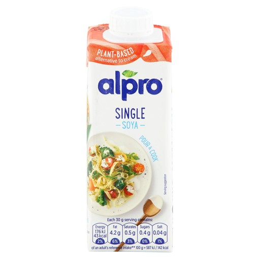 Picture of Alpro Soya Long Life Alternative to Single Cream 250ml