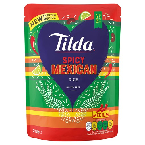 Picture of Tilda Spicy Mexican Basmati Rice 250g