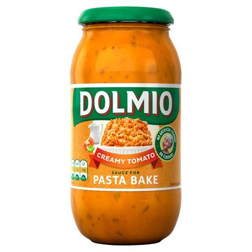 Picture of Dolmio Pasta Bake Creamy Tomato Pasta Sauce 500g
