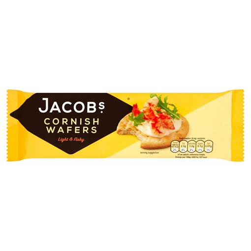 Picture of Jacob's Cornish Wafers Crackers 150g
