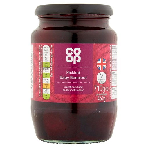 Picture of Co Op Pickled Baby Beetroot 710g