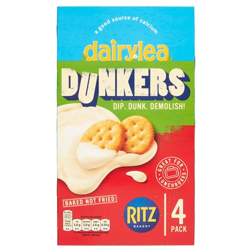 Picture of Dairylea Dunkers Cheese Dip with Ritz 4 Pack 184g