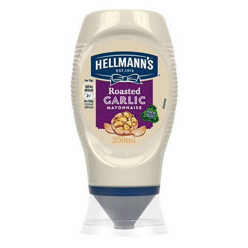 Picture of Hellmann's Roasted Garlic Mayonnaise 250 ml
