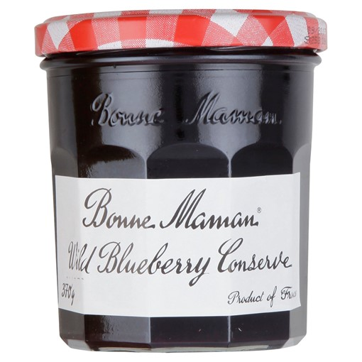 Picture of Bonne Maman Wild Blueberry Jam 370g