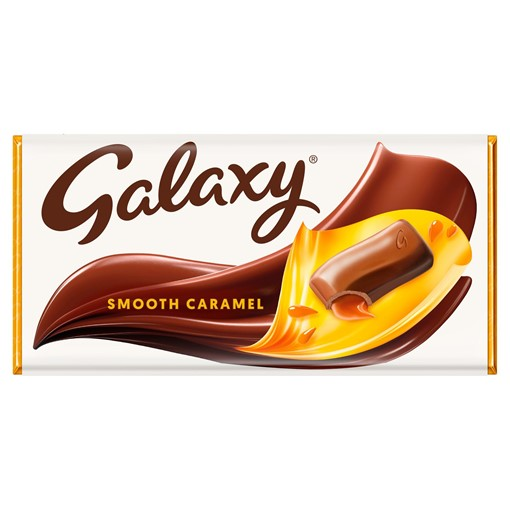 Picture of Galaxy Caramel Chocolate Bar 135g