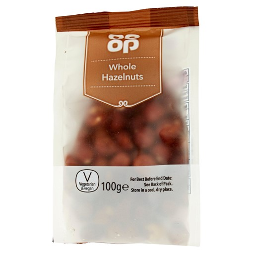 Picture of Co Op Whole Hazelnuts 100g