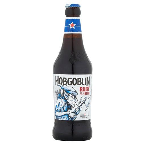 Picture of Wychwood Brewery Hobgoblin Ruby Ale Beer 500ml