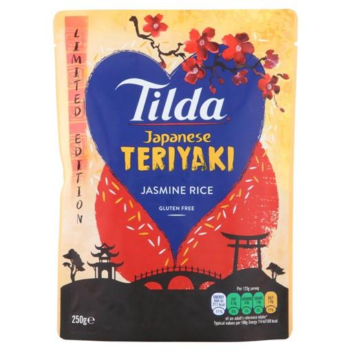 Picture of Tilda Japanese Teriyaki Jasmine Rice 250g