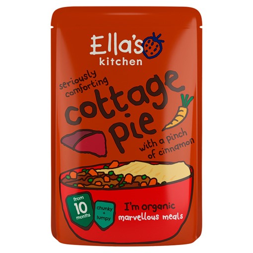 Picture of Ella's Kitchen Organic Cottage Pie with Cinnamon Pouch 10+ Months 190g