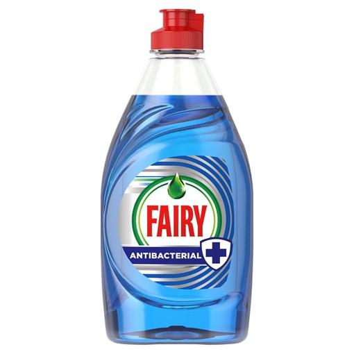 Picture of Fairy Antibacterial Washing Up Liquid Eucalyptus 383 ml