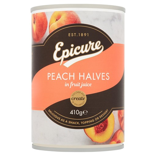 Picture of Epicure Peach Halves in Fruit Juice 410g