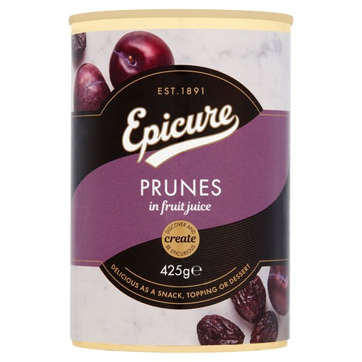 Picture of Epicure Prunes in Fruit Juice 425g