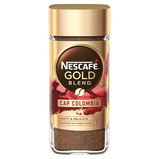 Picture of Nescafe Gold Blend Cap Colombia Origins Instant Coffee 100g