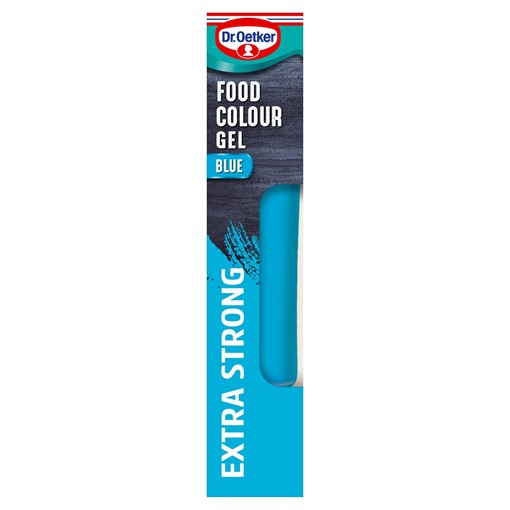 Picture of Dr. Oetker Blue Extra Strong Food Colour Gel 15g