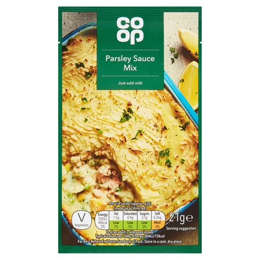 Picture of Co Op Parsley Sauce Mix 21g