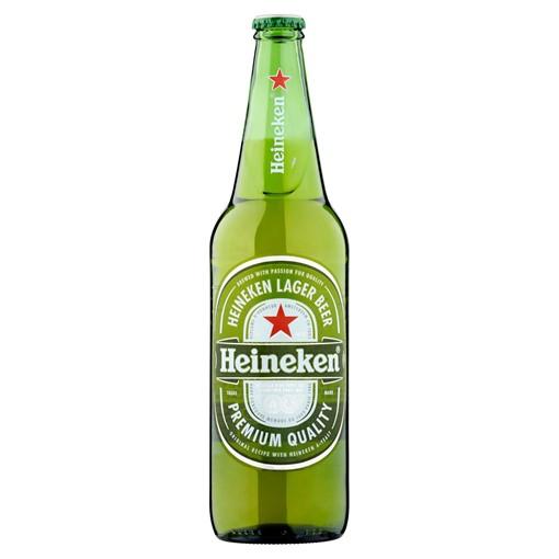 Picture of Heineken Premium Lager Beer 650ml Bottle