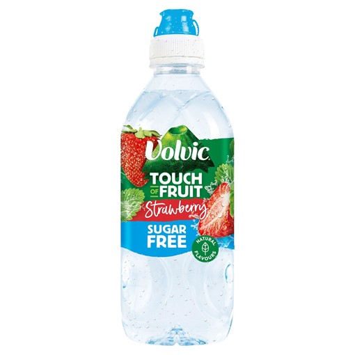 Picture of Volvic Touch of Fruit Sugar Free Strawberry Natural Flavoured Water 750ml