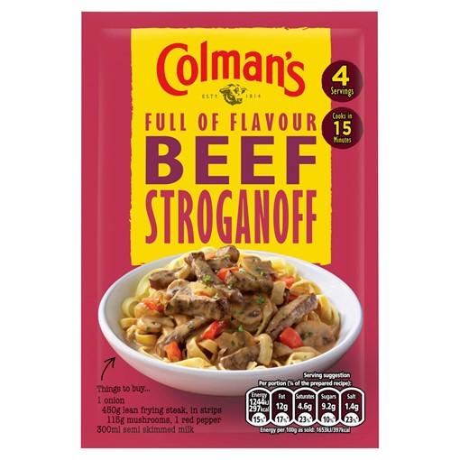 Picture of Colman's Beef Stroganoff Recipe Mix 39g