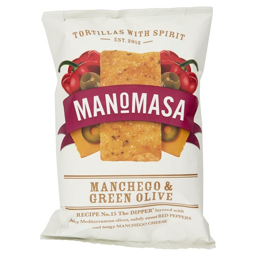 Picture of Manomasa Manchego & Green Olive 160g