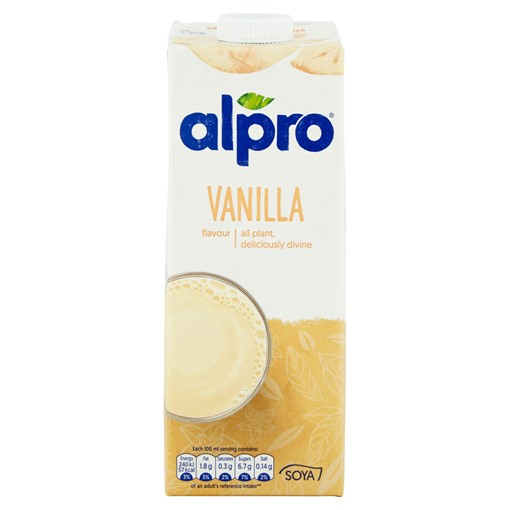 Picture of Alpro Soya Vanilla Long Life Drink 1L