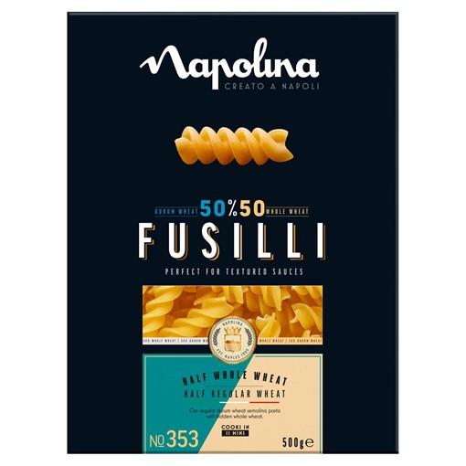 Picture of Napolina 50/50 Fusilli Pasta 500g