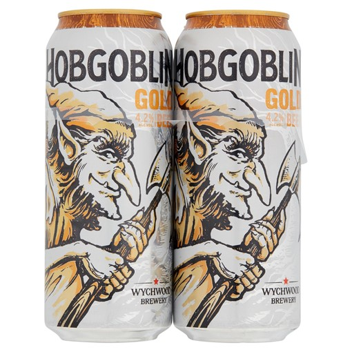 Picture of Wychwood Brewery Hobgoblin Gold Beer 500ml