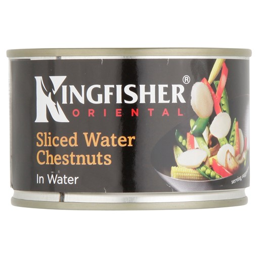 Picture of Kingfisher Oriental Sliced Water Chestnuts in Water 225g