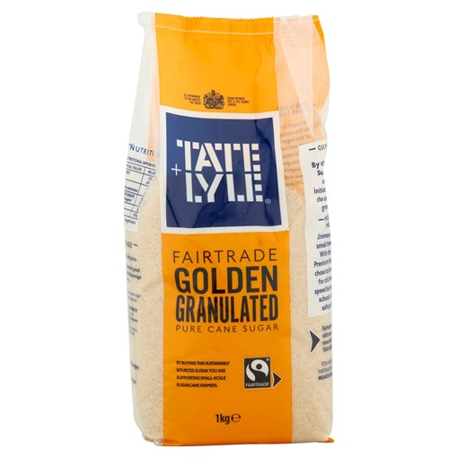 Picture of Tate & Lyle Fairtrade South Pacific Inspired Golden Granulated Cane Sugar 1kg
