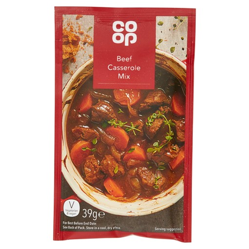 Picture of Co Op Beef Casserole Mix 39g