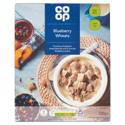 Picture of Co-op Blueberry Wheats 500g