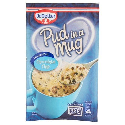Picture of Dr. Oetker Chocolate Chip Pud in a Mug 65g