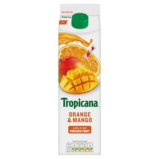 Picture of Tropicana Orange & Mango Juice 850ml