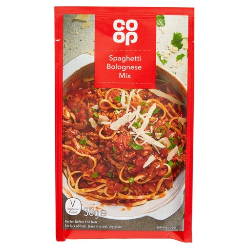 Picture of Co Op Spaghetti Bolognese Mix 38g