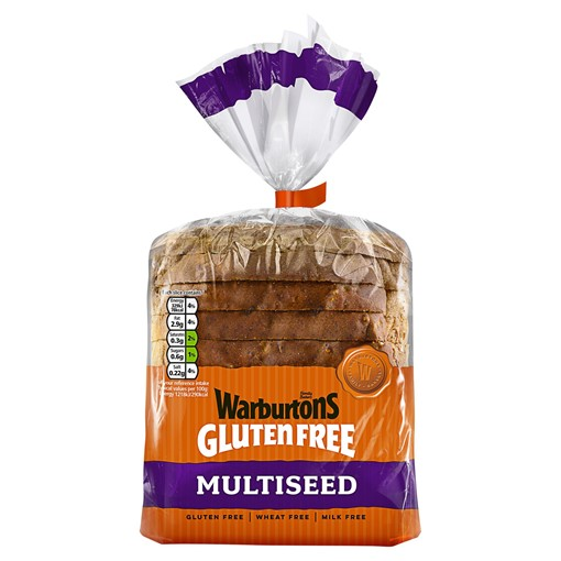 Picture of Warburtons Gluten Free Multiseed Loaf 300g