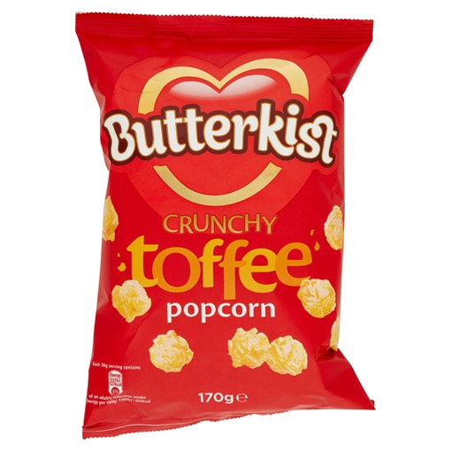 Picture of Butterkist Crunchy Toffee Popcorn 170g