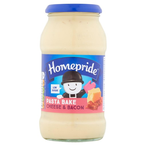 Picture of Homepride Pasta Bake Cheese & Bacon 485g