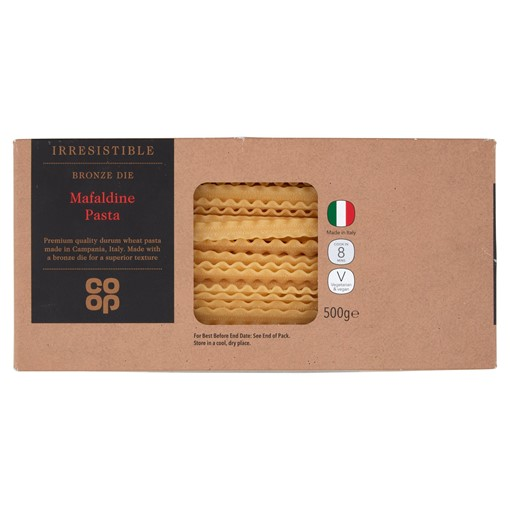 Picture of Co-op Irresistible Bronze Die Mafaldine Pasta 500g