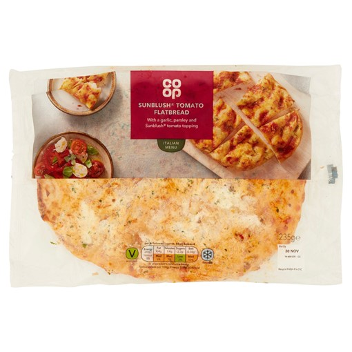 Picture of Co-op Sunblush Tomato Flatbread 235g