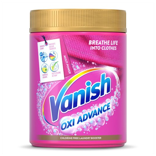Picture of Vanish Oxi Advance Multi Power Chlorine-Free Laundry Booster Powder 1kg
