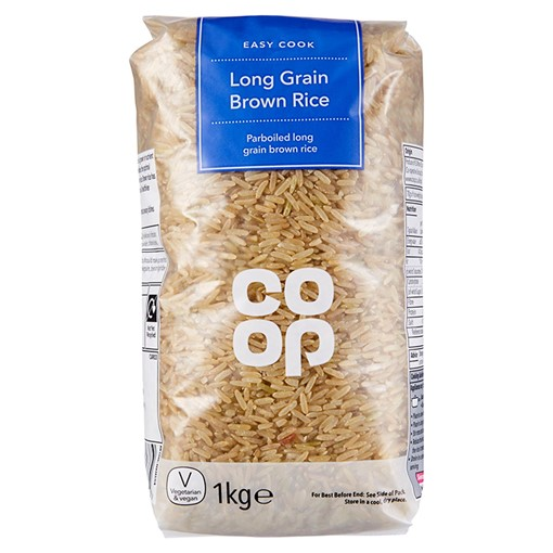 Picture of Co Op Long Grain Brown Rice 1kg